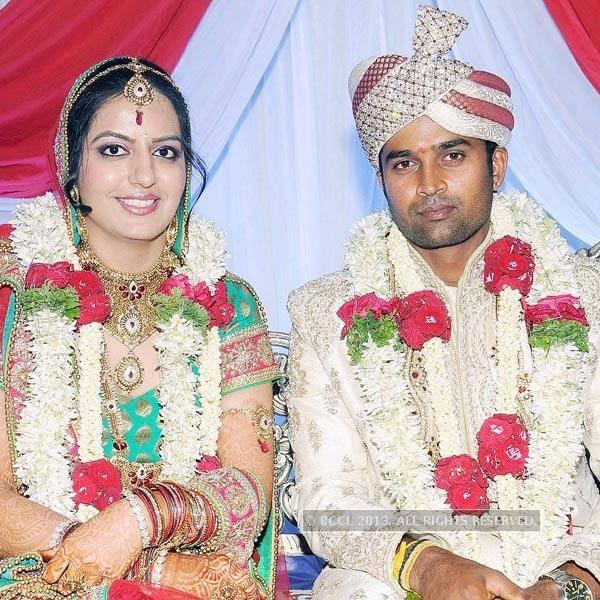 Richa And Indian Cricketer Vinay Kumar Marriage Photos