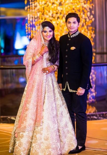 Sania Mirza Sister Anam And Akbar Rasheed Wedding Photos