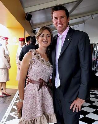 Sara Leonardi And Glenn McGrath Marriage Photos