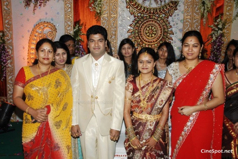 Swati Reddy And  Siva Reddy Marriage Photos