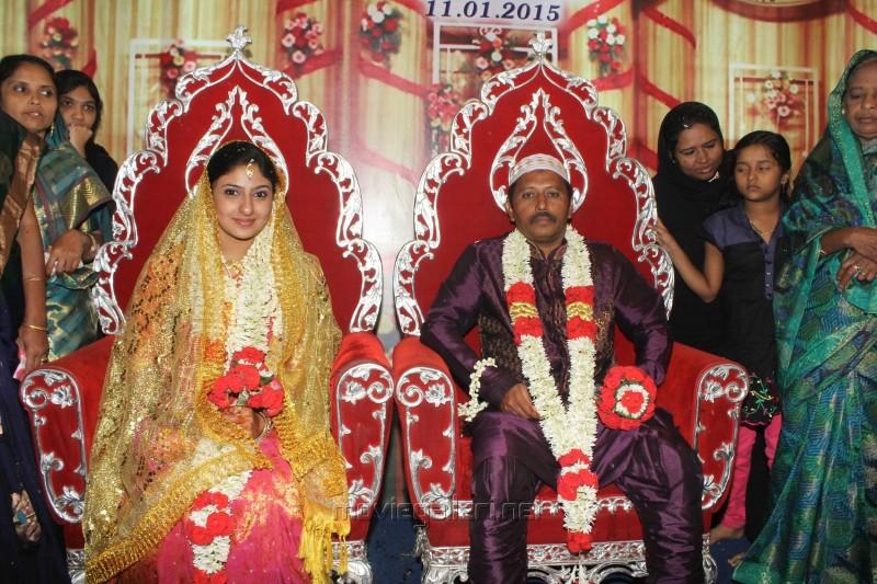 Tamil Actress Monica And Malik Wedding Photos