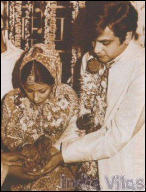 Actor Jeetendra And Shobha Kapoor Wedding Photos