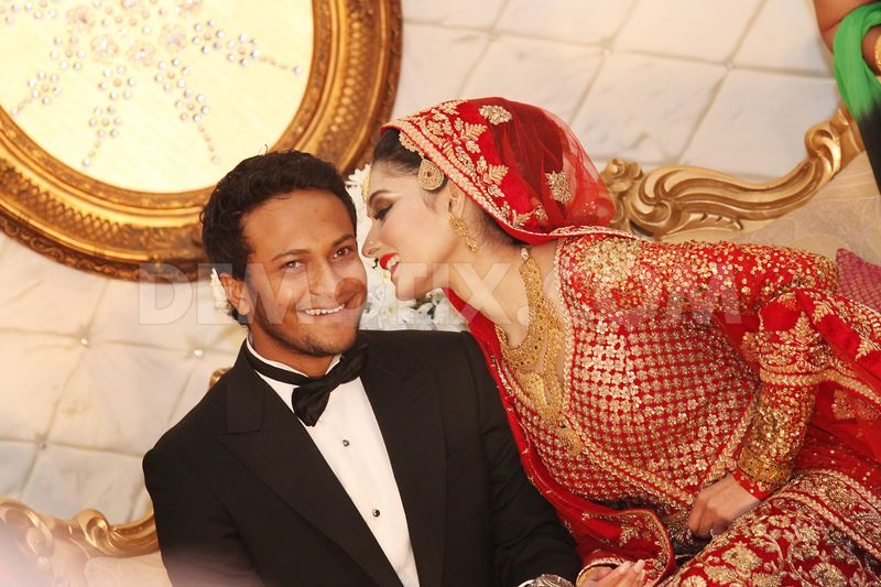 Shakib Al Hasan And Umme Ahmed Shishir Wedding Photos