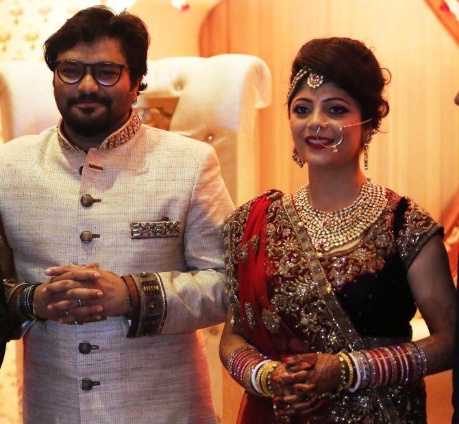 Babul Supriyo And Rachna Sharma Marriage Pics