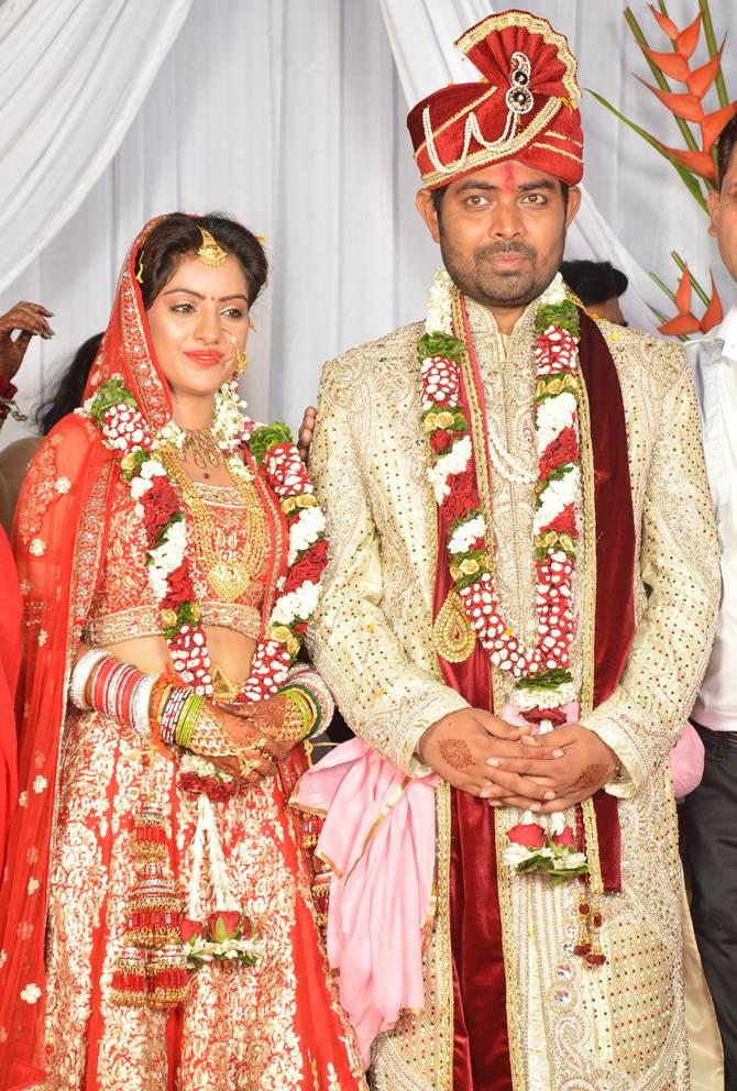 Deepika Singh And Rohit Raj Marriage Photos