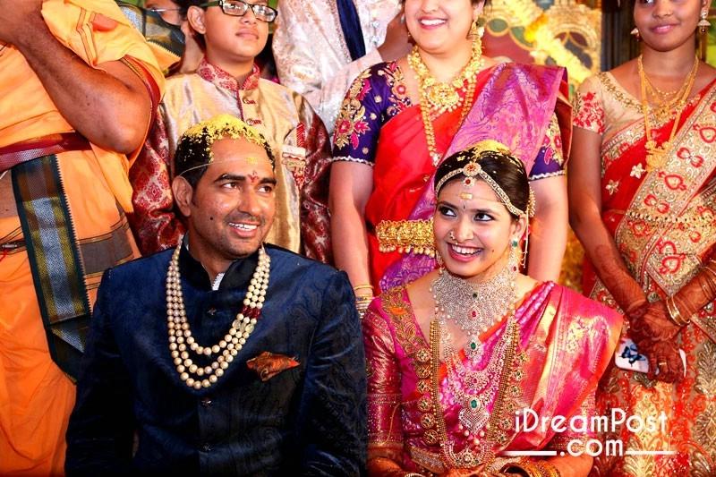Director Krish And Ramya Marriage Pics