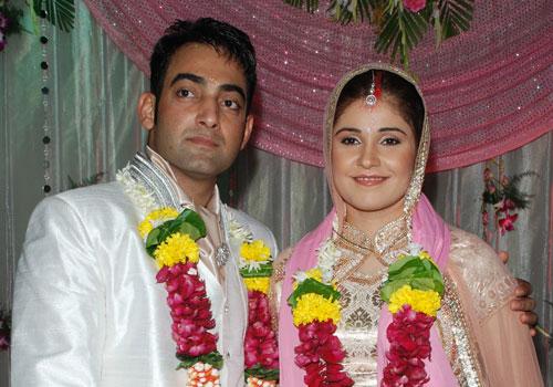 Meher Vij And Manav Vij Marriage Photos