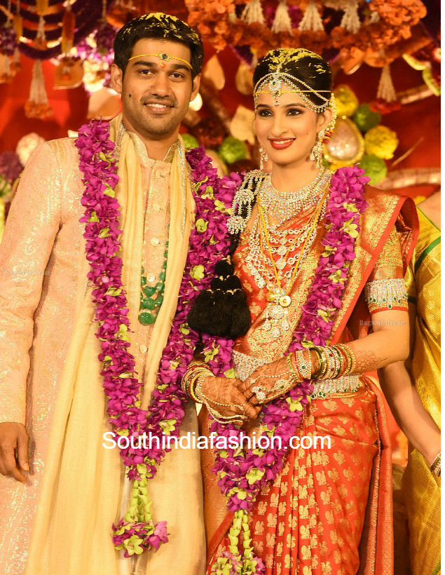 Nimmagadda Prasad Daughter Swathi And Pranav Wedding Photos