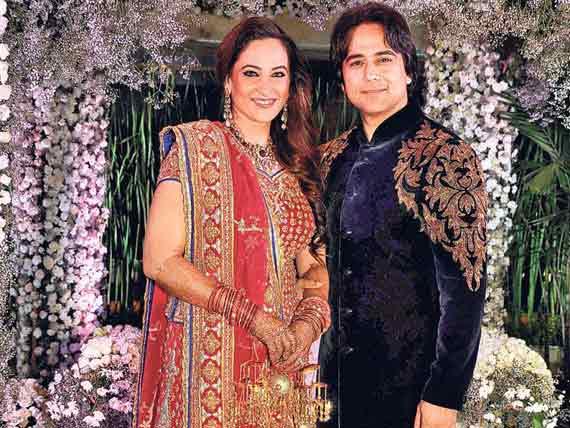 Rakshanda Khan And Sachin Tyagi Marriage Photos