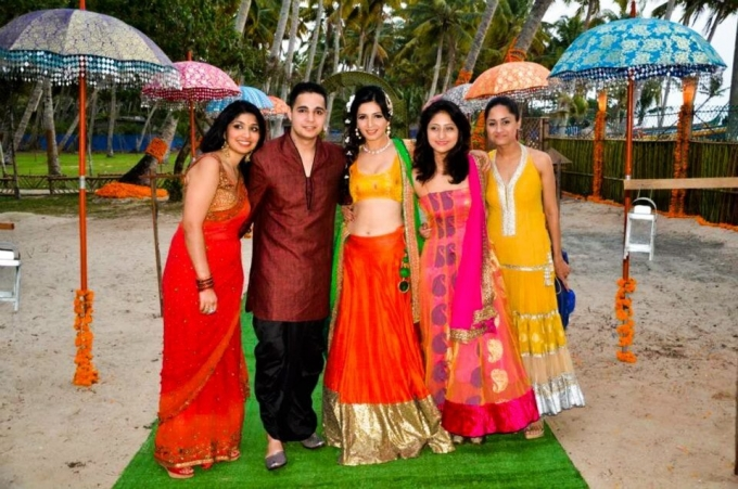 Shonali Nagrani And Shiraz Bhattacharya Marriage Photos