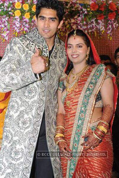 Vijender Singh And Archana Singh Marriage Photos