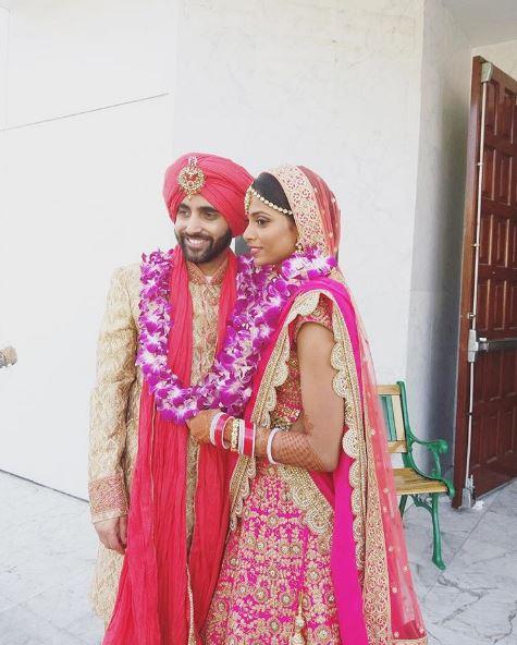 Sunny Leones Brother Sundeep Vohra Recently Got Married To Karishma Naidu