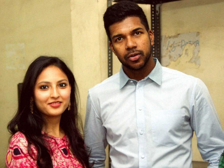 Indian Cricketer Varun Aaron And Ragini Marriage Photos