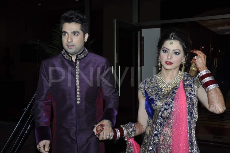 Aamna Sharif And Amit Kapoor Wedding Pictures