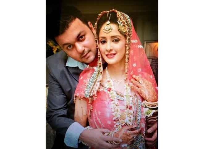 Chahat Khanna And Farhan Mirza Marriage Pics