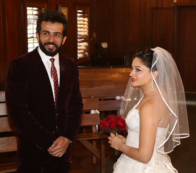 Jay Bhanushali And Mahi Vij Wedding Photos