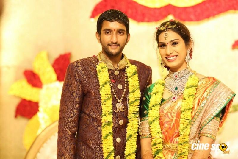 GhattamaneniAdiseshagiri Rao Sai Raghava Ratnababu And Priyanka Engagement Photos