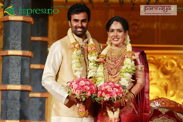 Director Joshiy Son Abhilash And Varsha Wedding Photos