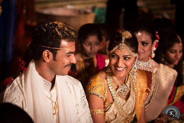 Producer Aswini Dutt's Daughter Swapna Dutt And Prasad Varma Wedding Photos