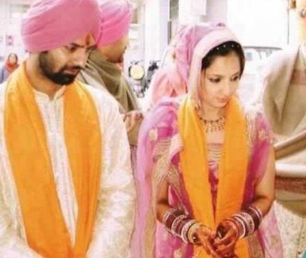 Television Actor Barun Sobti And Pashmeen Manchanda Wedding Photos