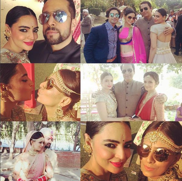 Television Actress And Roshni Chopras Sister Deeya Chopra Tied Knot With Ritchie Mehta