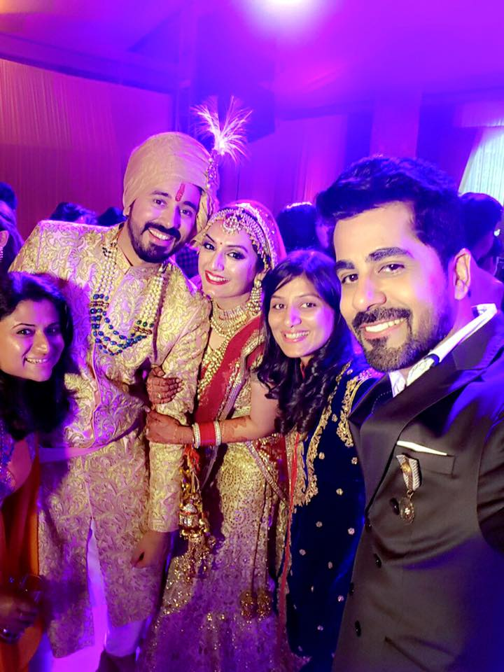 Akriti Kakkar And Chirag Arora Marriage Photos