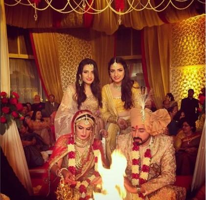 Akriti Kakkar And Chirag Arora Marriage Photos