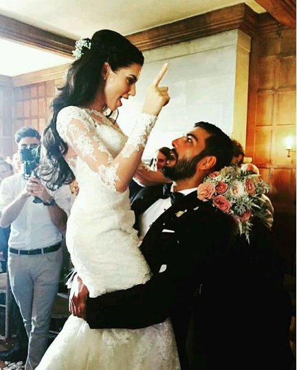 Pravesh Rana And Scarlett Wilson Marriage Photos