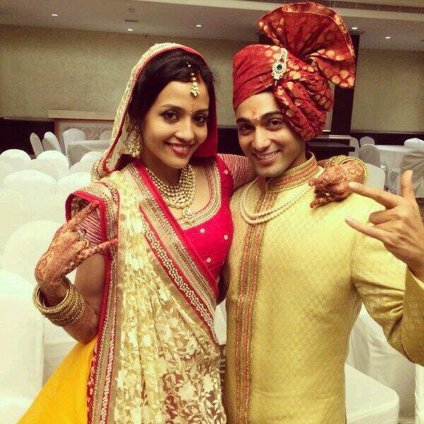 Ruslaan Mumtaz And Nirali Mehta Wedding Photos