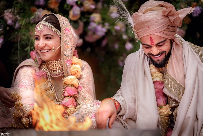 Virat And Anushka Wedding Pics