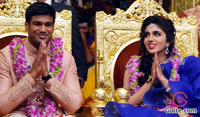 Ramojis Granddaughters Wedding Images