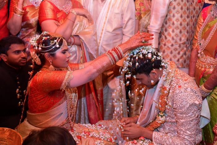 Narendra Chowdhary Daughter Rachana And Vishnu Teja Got Married