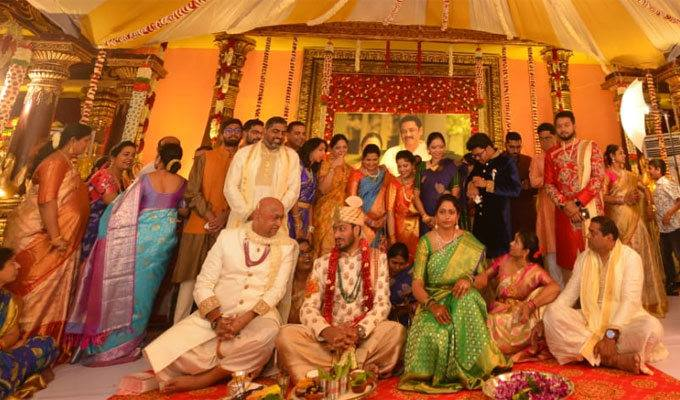 AP Minister Bhuma Akhila Priya Marriage Photos