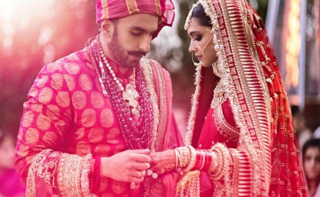 Pictures From Ranveer Singh & Deepika Padukone Big Fat Wedding