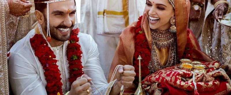 Ranveer Singh & Deepika Padukone Big Fat Wedding Photos