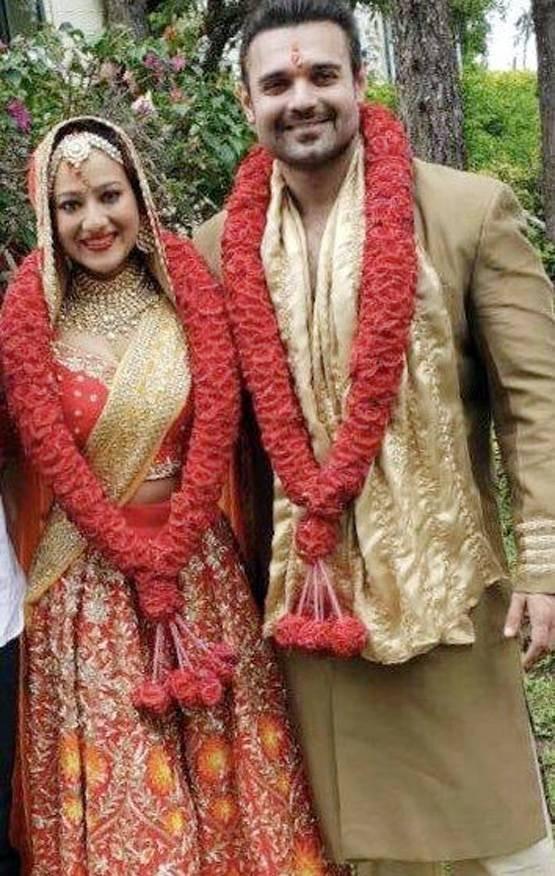 Mahaakshay Chakraborty Marries Madalsa Sharma