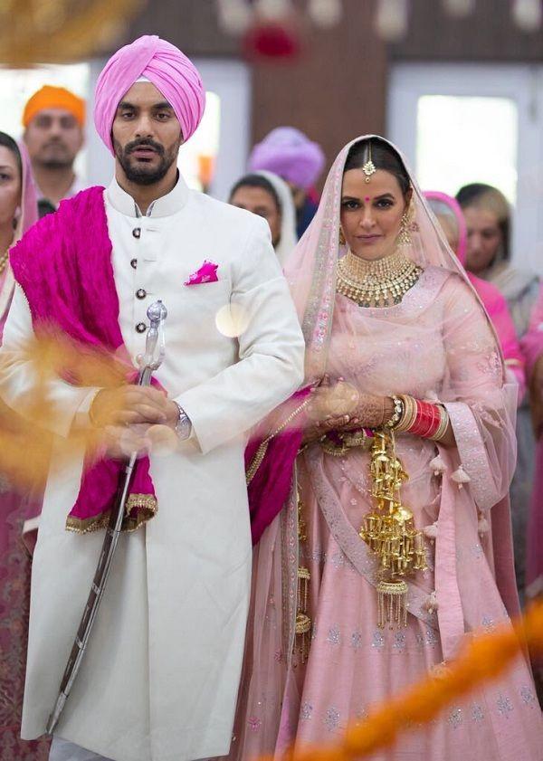 Neha Dhupia-Angad Bedi  Married On May 10, 2018
