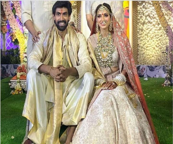 Rana Daggubati Miheeka Bajaj Get Married