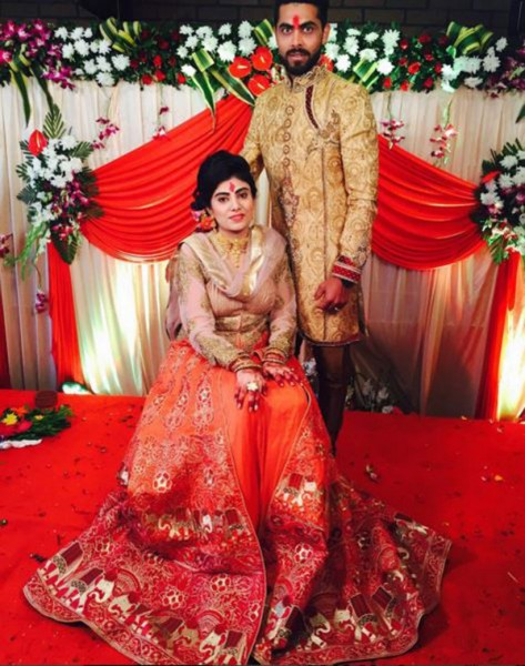 Indian Cricketer Ravindra Jadeja Gets Engaged To Reeva Solanki