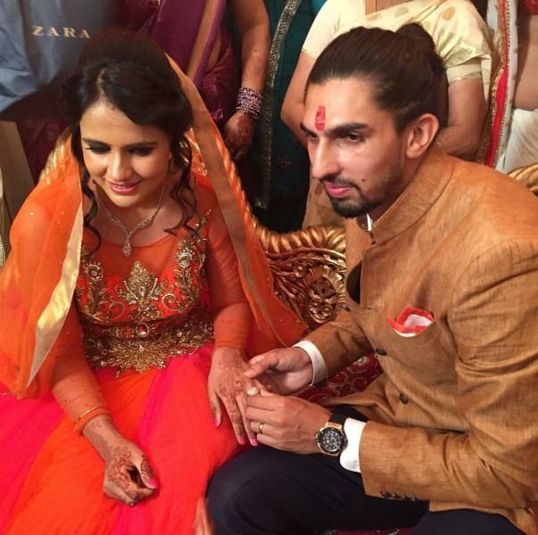 Ishant Sharma Got Engaged To Basketball Star Pratima Singh