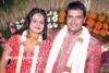 Niranjan And Abhinaya Marriage Photos