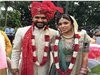 Cricketer Rohit Sharma And Ritika Sajdeh Marriage Photos