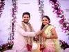 Tollywood Actors Varun Sandesh And Vithika Sheru Engagement Photos